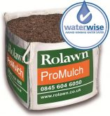 mulch in a bulk bag