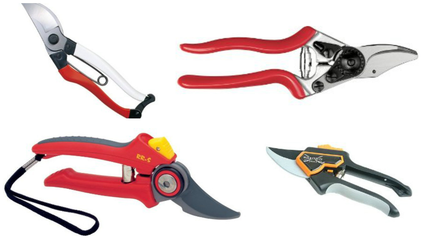The jolly gardener for Gardening tools secateurs