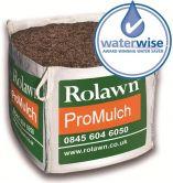 mulch in a bulk bag