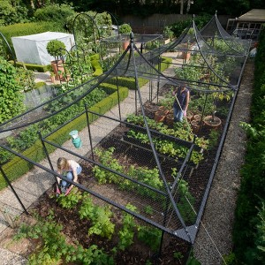peaked roof fruit cage kit